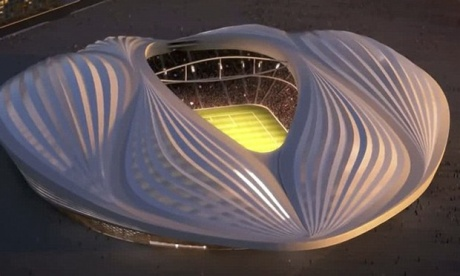 Doha's new football stadium. Seriously. (Internet)