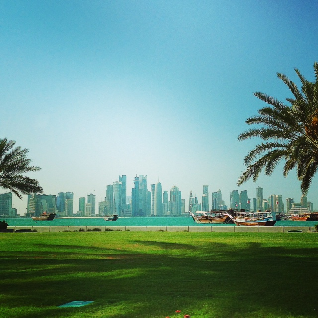 Doha beautiful from this angle