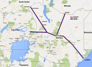 LAMU-PORT-SOUTH-SUDAN-ETHIOPIA TRANSPORT CORRIDOR #LAPSSET